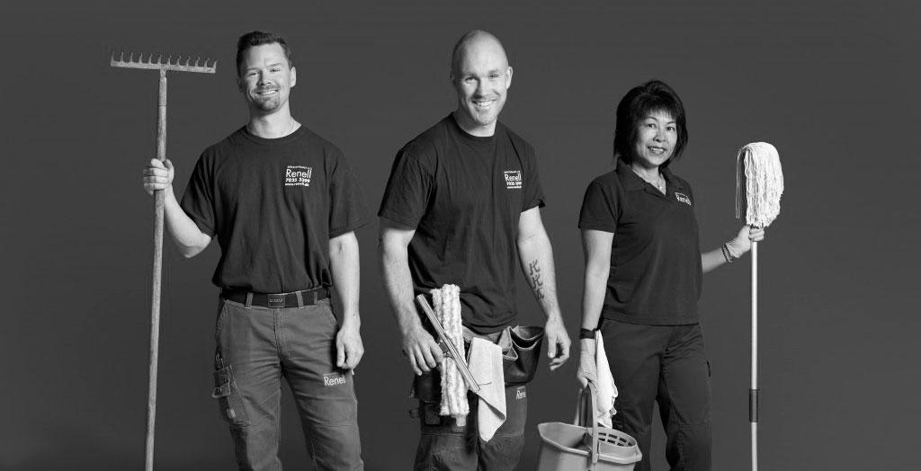 Lad os få din din virksomhed til at skinne - vi hjælper med ejendomsservicen